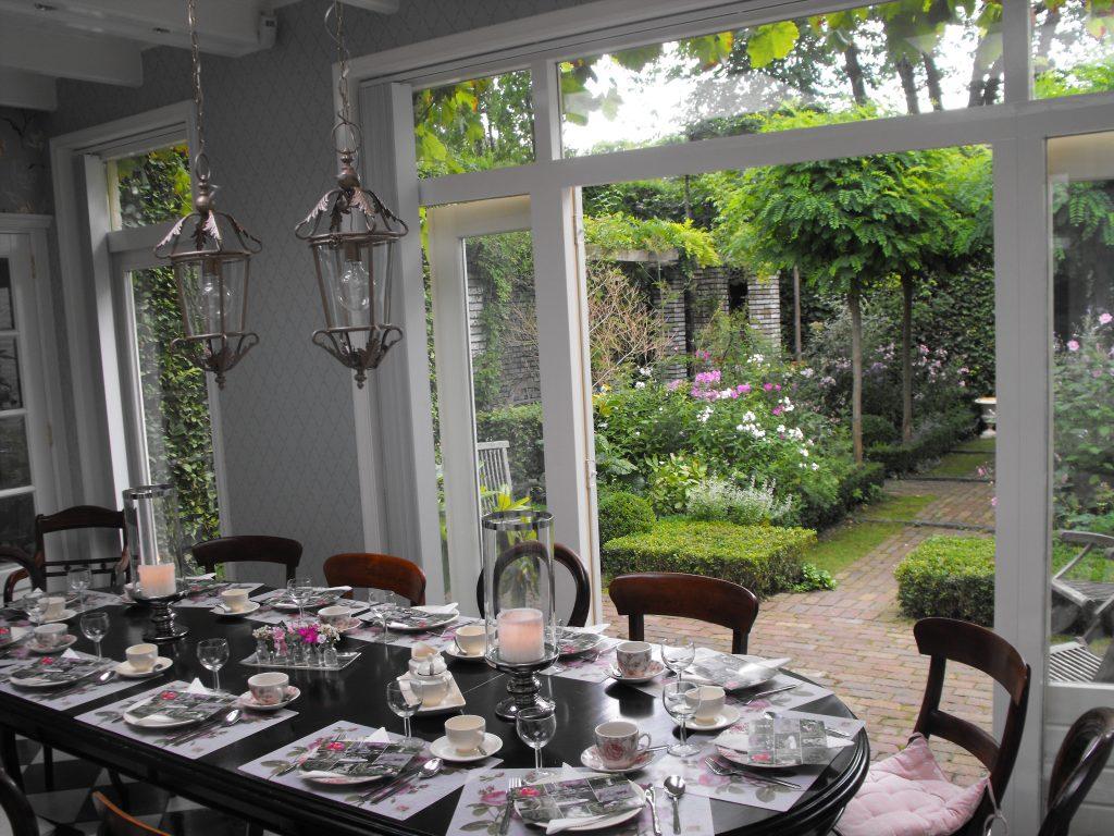 Lunchen in onze gezellige woonkeuken